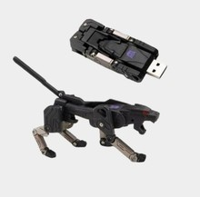 New Hot sale Transformers robot USB Flash Drive pen drive 64GB 32GB 4GB 8GB 16GB u disk pendrive memory stick cool gift free(China)