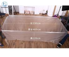 One Pieces Large Disposable Folding Tub Membrane Bathtub Film Home Baby Swimming Plastic Bag A251()