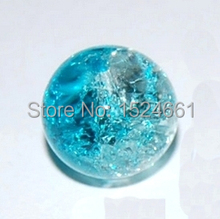 100 Crackle Glass Round Beads 8mm Dia. crystal lampwork glass beads other jewelry spacers lot aliexpress