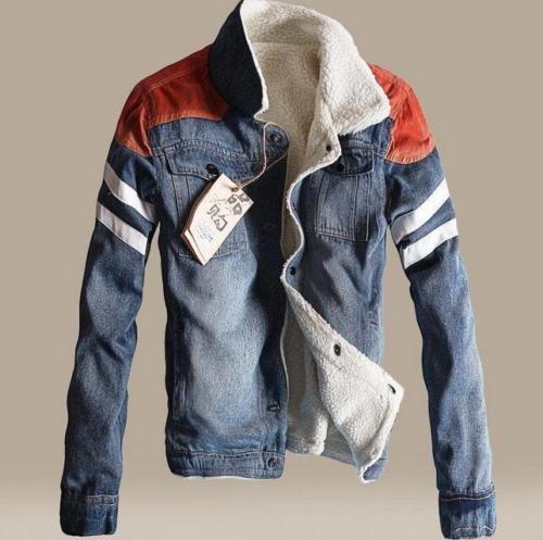Jean Fur Coats Men Promotion-Shop for Promotional Jean Fur Coats ...