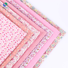 2017New 7pcs 50*50cm thin Cotton fabric DIY dolls tissus tecidos sewing Pillow Cloth group Patchwork quilting costura fabric F19