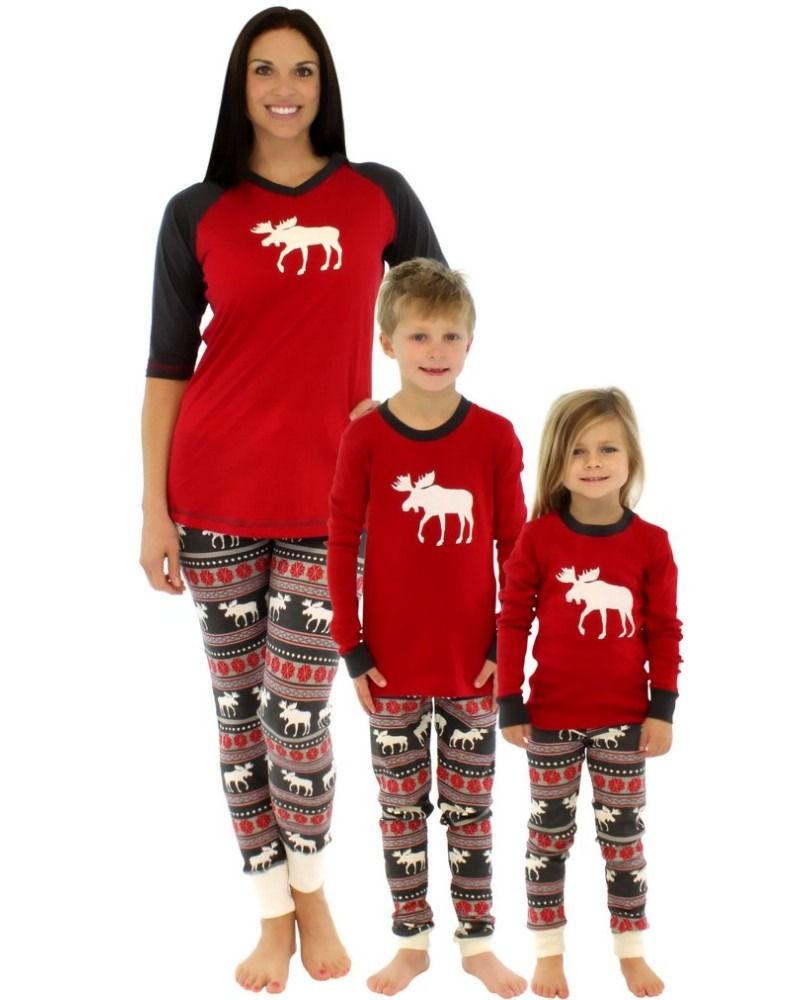 Family Christmas pajamas-5