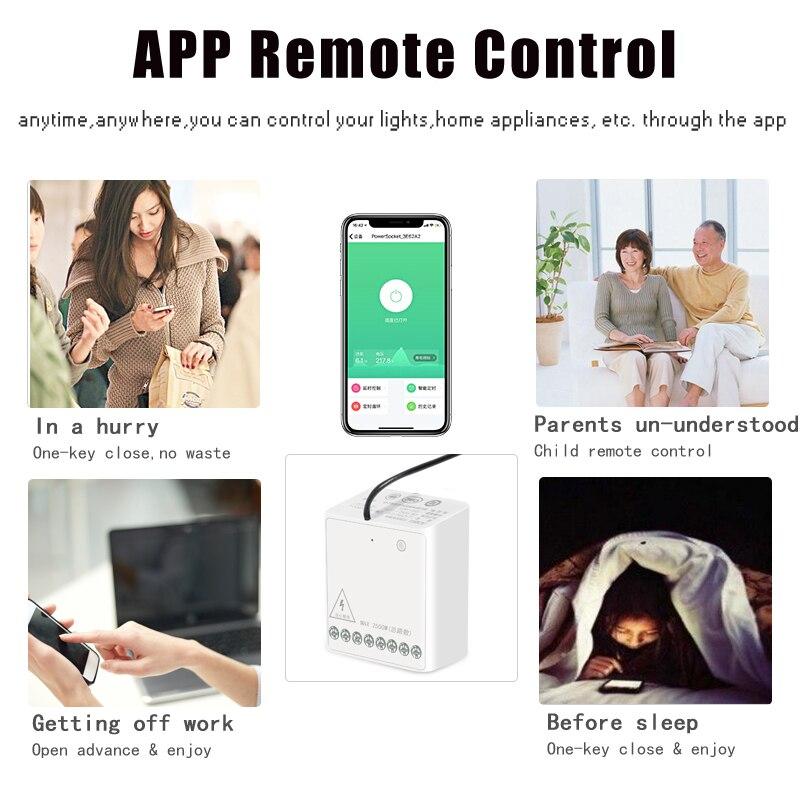 In Stock Xiaomi Mijia Aqara Eigenstone Two-way control module Wireless Relay Controller 2 channels Work For Mijia Home Kit (2)