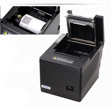 2017 new wholesale brand new High quality 80mm thermal printer XP-Q260III pos USB + LAN + serial port printer automatic cutting