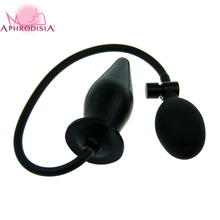 Buy Expando Inflatable Butt Plug, 6 inch rubber plug make anal pleasure, Cheap Anal Sex Toys adult product