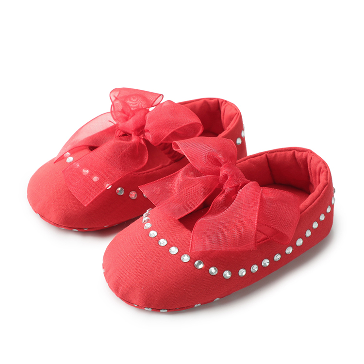 Anti-skid Baby Shoes Newborn Infant Toddler First Walkers Shallow Elastic Band Soft Soled Cotton Prewalker