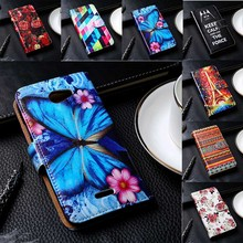 Flip PU Leather Phone Cover For HTC Desire 210/300/310/316/500/510/526/600/601 Cases Hard Plastic Black Inner Durable Shell
