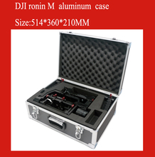 DJI ronin M case aluminum protective box impact resistant protective case with custom EVA lining special custom for roinin m(China)