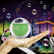 Simple Lovely Mini Speaker Wireless Mini Outdoor LED Colorful Flash Light Unique Portable Speaker Mini Sound Box For Cellphone