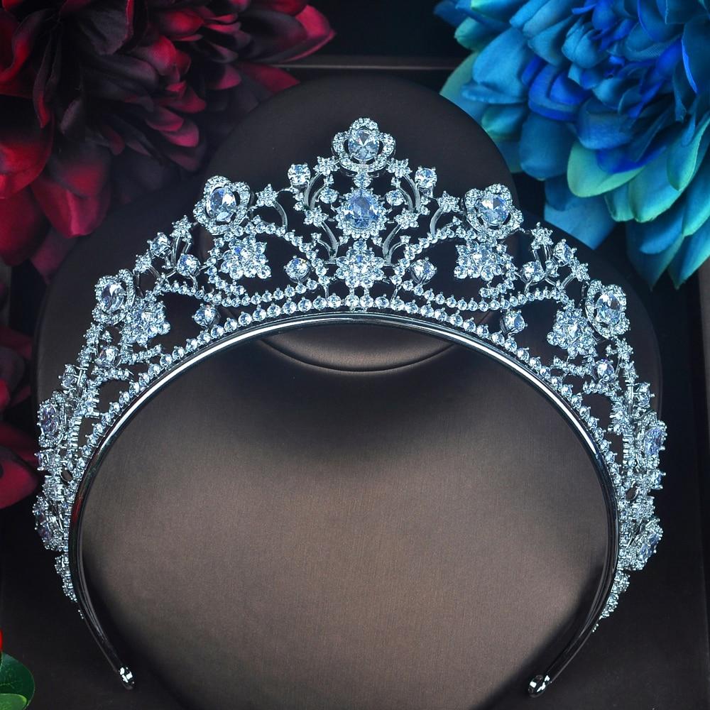 Bridal Headband Rhinestone Crystal Hair Crown Tiara Headpiece Princess E24