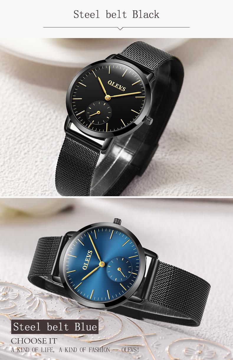 HTB1Nk5bSpXXXXXeapXXq6xXFXXXg - OLEVS Luxury Watches Women's Rose Gold Casual Quartz Watch Stainless Steel Watch Water Resistant Clock relojes hombre 2017 saat