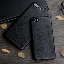 Keysion Case for iphone 8 8 Plus 7 7 Plus Luxury Crocodile Snake Print Leather soft Back Cover for iphone 8 7Plus Phone Bags(China)