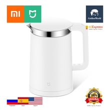 Buy Xiaomi Original Mijia Mi Electric Water Kettle 1.5L Constant Temperature Control 304 Stainless Steel for $92.90 in AliExpress store