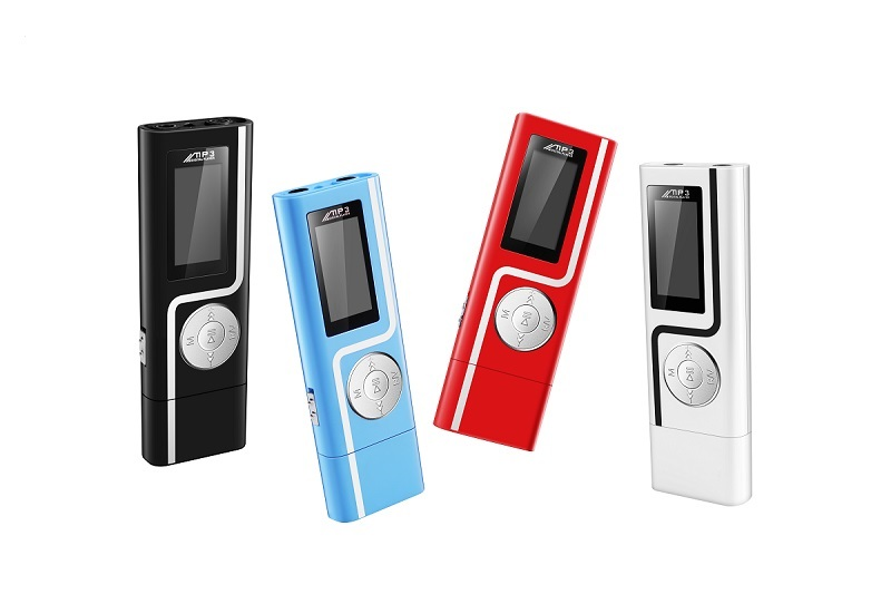 1GERUIDA MP3 Player Faster Charge USB MP3 Mini Music Player Also U Disk 2G4G8G With FM Recording E-Book OTG Lanyard  (1)