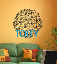 Geometric Origami Wall Decal Vinyl Sticker Art Decor Bedroom Design Mural H56cm x W56cm