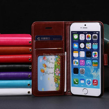 Fine Sheep Lines Pattern Leather Case for iPhone6/iPhone6s, with Credit Card Slots and Stand, Free shipping, Free Screen Film(China)