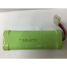 2Pcs Free Shipping Ni MH NI-MH SC 7.2V 2500mah power model airplane remote control toy car charging battery pack