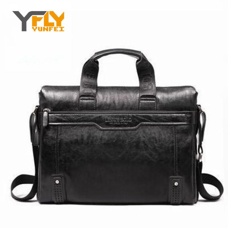 Y-FLY 2017 news brand pu leather Business Handbags Mens Briefcase Men Messenger Bags bolsas fashion Mens travel bags DB3721-1<br><br>Aliexpress