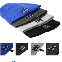 Soft Warm Beanie Hat + Wireless Bluetooth 3.0 Smart Cap Headphone Headset Speaker Mic For All bluetooth device