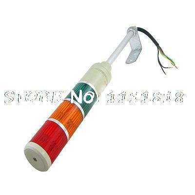 AC 220V 5W Industrial Tower Red Green Yellow Flashing LED Indicating Light<br>