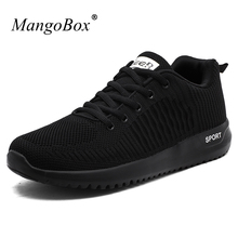 New Spring Autumn Men Sneakers Men Trainers Sneakers Black Lightweight Walking Running Trainers Breathable Authentic Shoes Cheap