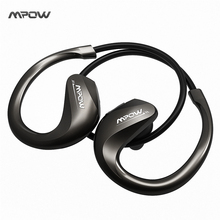 MPOW Edge Bluetooth Headphones IPX4 Sweat-proof Sport Earphone Super Sound Quality for Running Gym Exercise Hands-free Calling(China)