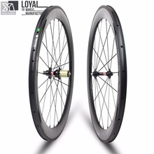 2017 Yuan'an Carbon Road Bike Wheels Wheelsets 25mm Width 60mm Depth Tubeless Ready With Pillar 1432 Spoke And DT SWISS 350s Hub