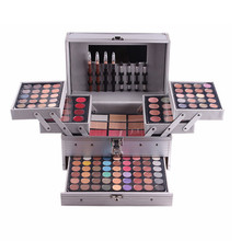 MISS ROSE Brand Full Professional Makeup Kit Eye Shadow Palette Blush Concealer Lipstick Cosmetic Set for Makeup Artist #250911(China)
