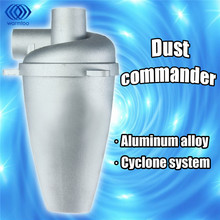 Aluminium Alloy Cyclone Dust Collector Filter SN25T5 Separator Collector Vacuums Cleaner Filter Home Industrial Duct Collector(China)