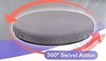 360 Degrees Cusion Turntable Rotate Gyrate Swivel Action For Car Chair Seat Cushion Mat Pad(China)