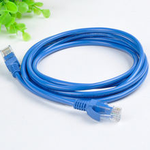 3M Patch Lan Cable RJ45 Ethernet Internet Network Patch Lan Cable Cord Blue CAT5 CAT5E RJ45 Network free shipping(China)