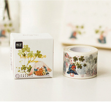 1 x 3cm wide Miss Bunny washi tape DIY decorative scrapbooking masking tape seal tape stationery school supplies