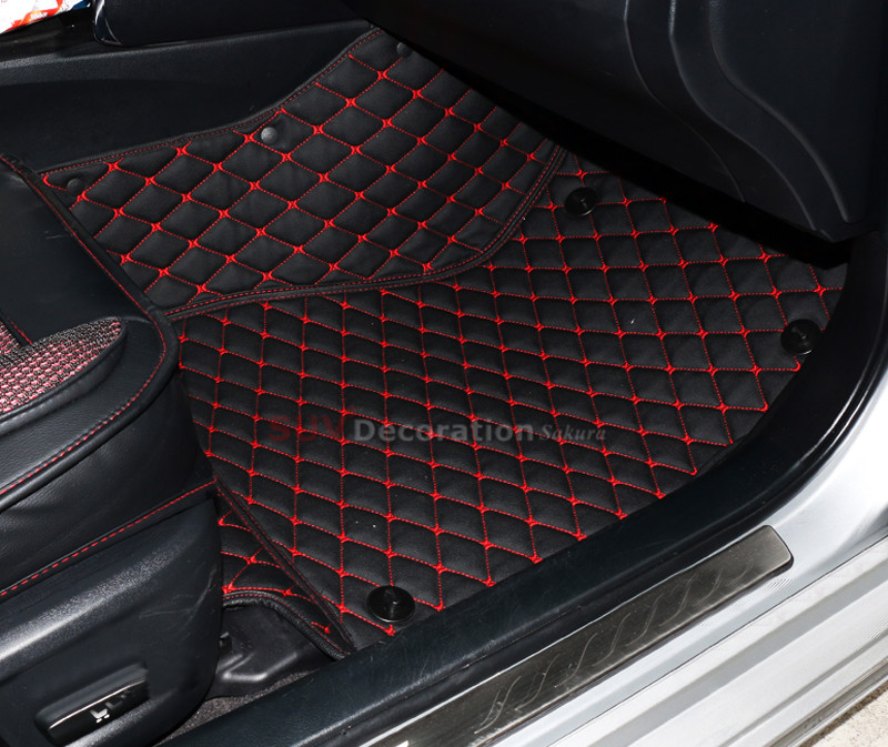 For Dodge Journey Fiat Freemont 7seats JC 2010-2016 Inner Floor Mats Foot Pad Car Leather Carpet Kits<br><br>Aliexpress