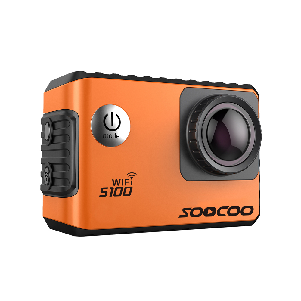 SOOCOO S100 4K Wifi Action Sports Camera Built-in Gyro with GPS Extension(GPS Model not include)<br><br>Aliexpress
