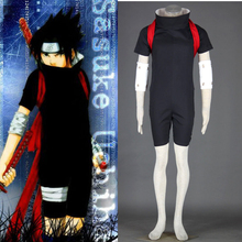 Hot sale anime naruto sasuke uchiha cosplay costume Japan Anime Halloween Cosplay Costumes