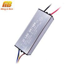 [MingBen] LED Driver 10W 20W 30W 50W 70W Convert AC 85-265V To DC 22-38V LED Driver For Flood Light Floodlight IP67 No Flicker(China)