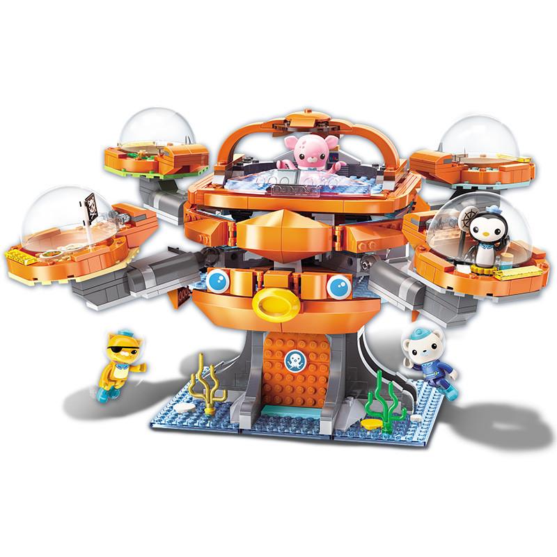ENLIGHTEN-Ideas-City-Octopus-octopod-Octonauts-Cartoon-Building-Blocks-Sets-Bricks-Model-Kids-Classic-Compatible-Legoings
