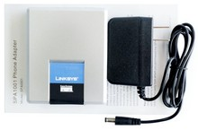 Fast Shipping! Unlocked Linksys SPA1001 VoIP Phone Adapter with 1 FXS Phone Ports(China)