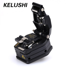 KELUSHI Fiber Optic Tools Fiber Cleaver SKL-6C Cutter Cable Cutting Tool 16 surface blade for FTTX FTTH Fiber Splicer Fusion