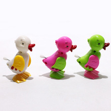 Hot 1Pcs Children Kids Educational Cute Chick Toys Clockwork Jumping Chicken Wind Up Toy Party Games Baby Gifts 2017