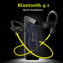 Blue Headphones Bluetooth Headset Wireless Earphones Sport Running Stereo Earbuds with Microphone for Xiaomi Samsung Lg(China)