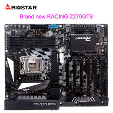 BIOSTAR Motherboard Z270GT9 I5 I7 7700K LGA 1151 Computer Mainboard Racing DDR4 Support 6 Graphics Card Slot 9Phase Power Supply