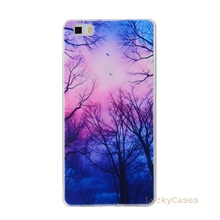 Soft TPU Phone Case for Huawei P8 lite popular Silicon Back Skin Cover for huawe shellu Bag