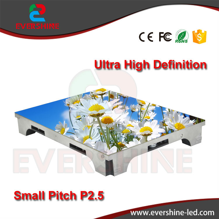 Ultra high definition small pixel pitch P2.5 indoor full color vedio led display screen for advertising meeting,stage,malls(China)