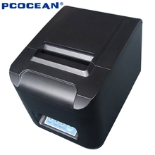 80mm Bluetooth thermal printer 80mm POS printer USB Mobile Phone printer Auto-Cutter For Windows Android IOS Phone 260MM/S