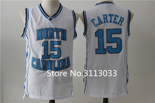 #15 Vince Carter North Carolina Tar Heels College Basketball Jersey All Size any Number and name