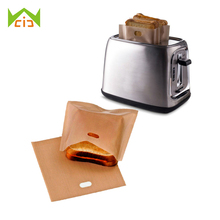 WCIC 5PCS Reusable Toaster Toastie Sandwich Toast Bags Pockets Toasty Toastabags Kitchen Tools(China)