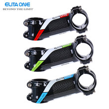 Buy ELITA ONE bicycle stem 17 degrees Aluminum alloy+Carbon Fibre carbon road bike MTB stem 31.8* 80/90/100/110mm cycling parts for $13.66 in AliExpress store