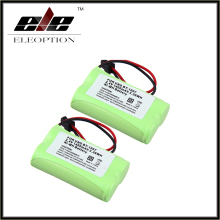High Quality Eleoption new 2 PCS 2.4V 1400mAh Ni-MH Cordless Phone Battery For Uniden BT-1007 BT1007 BT1015 Free Shipping