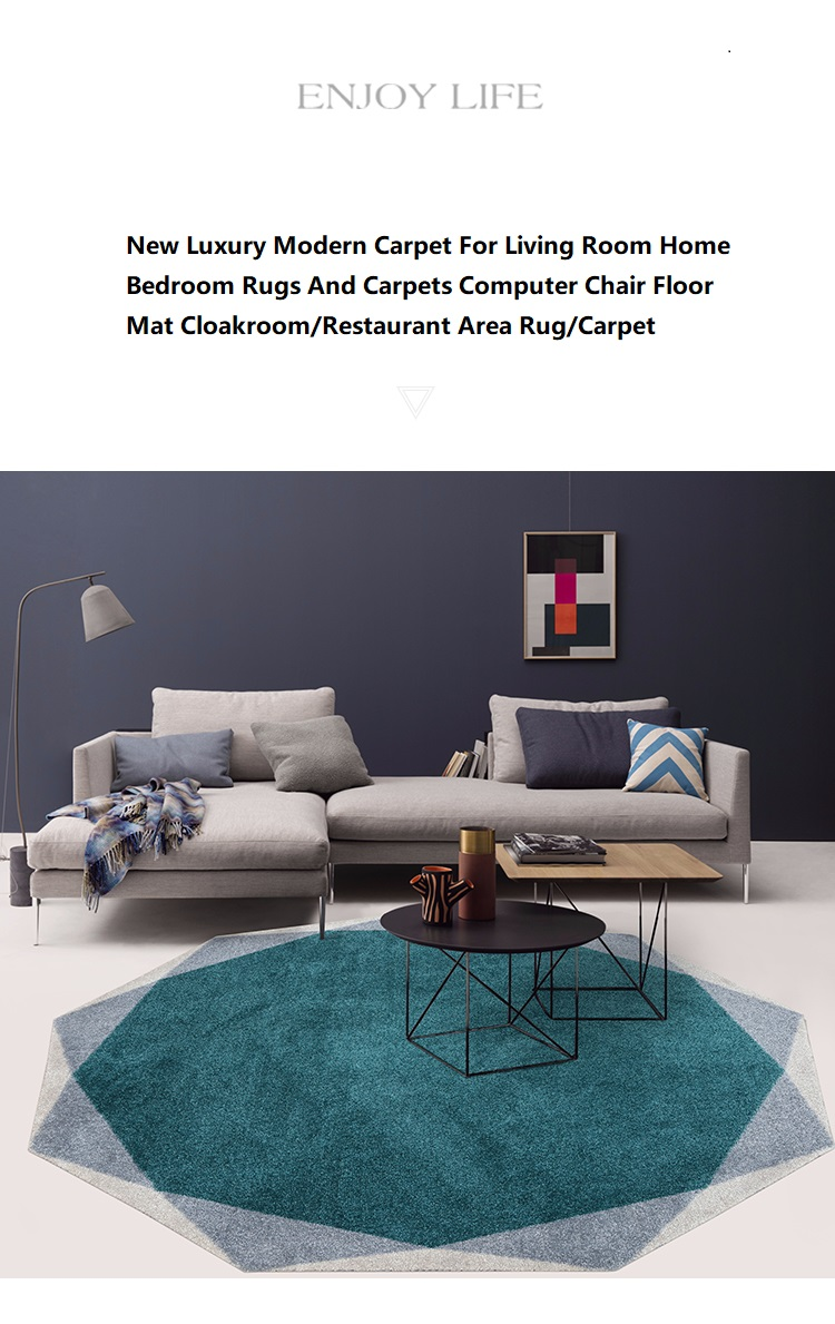 Luxury Modern Carpet For Living Room Home Bedroom Rugs And Carpets Computer Chair Floor Mat Cloakroom Restaurant Area Rug Carpet